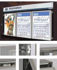 Hinged Sign Case System