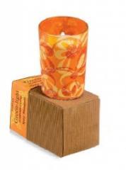 Himalaya Maroma Green-Light Luminary Candle Spicy Mandarin