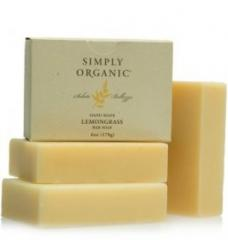 Simply Organic Hand Made Lemongrass Bar Soap 170g