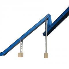 Drag chain conveyors KKF 850/1050/1250/1450-2K-U