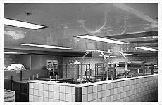 Dishwasher ceilings