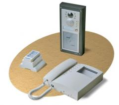4000 Series Videokit with proximity access control