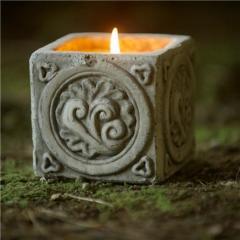 St Eval Ephesus Cube Candle