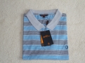Blue & Grey stripped Polo Shirt