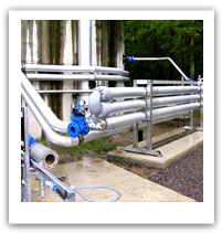 Pipe work and mechanical
