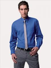 Long Sleeved Men's Easycare Oxford Shirt