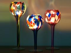 Recycled Glass Table Top Candle Globe