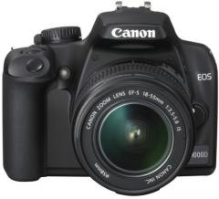 Canon EOS 1000D Black + 18-55mm Lens Kit Camera