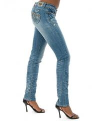 Apple Bottoms Candace AB Pkt Rhinestone Jeans