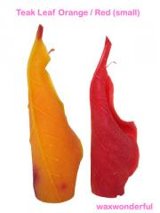 Teak Leaf Candles