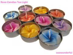 Rose Tea Lights