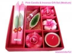 Pink Candle Gift Sets