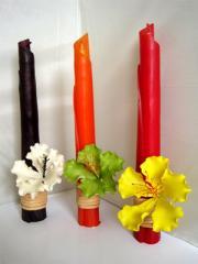 Banana Leaf Candles