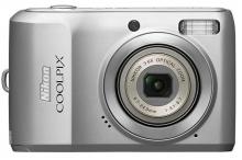 Nikon Coolpix L19 digital Camera Silver Colour