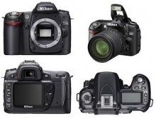 Nikon D80 Digital SLR Camera with Nikon 18-55mm VR Lens Kit