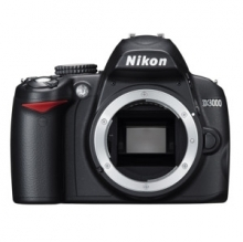 Nikon D3000 slr Digital Camera body