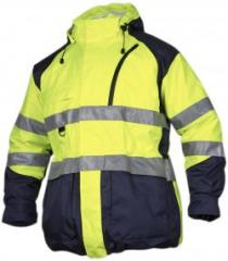 EN471 High Visibility Class 3 8 In 1 Parka