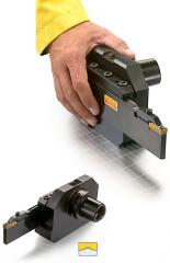 CoroCut blades and tool blocks for deep grooving