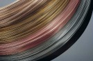 Wire for the electronic industry