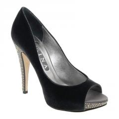 Bettina closed back open toe shoes