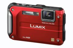 Panasonic DMCFT3EBR Digital Camera Red
