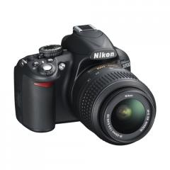 Nikon D3100 14 Megapixel Full HD 1080p DSLR Camera with Face Detection