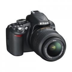 Nikon D3100 14 Megapixel Full HD 1080p DSLR Camera with Face Detection