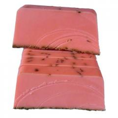 Handmade Lavender Tea Tree Soap Slice SLS Free