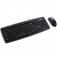 Genius KB C100 Standard dektop combo (Keyboard + Mice) - Black