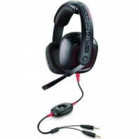 Plantronics GameCom 367 Closed-Ear Gaming Headset - Black