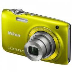 "Nikon S3100YELL - 14 MP Coolpix 2.7"" LCD"