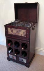 Floral Wine Rack