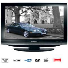 Toshiba - 19DV713B - 19 Inch HD Ready LCD 50 Hz Freeview 1 HDMI Bulit in DVD Player
