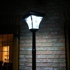 Solar Lamp Post Light With Pir Sensor