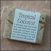 Tropical Coconut Shampoo soaps