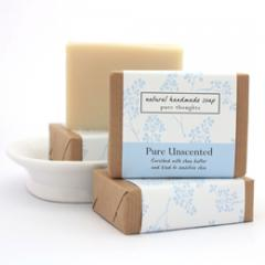 Pure Unscented Natural Soap
