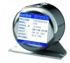 Setra Model 270 pressure transducer