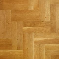 Solid Oak Parquet Flooring - Natural Grade