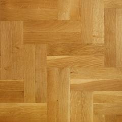 Solid Oak Parquet Flooring - Natural Grade