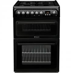 Hotpoint 60CM black gas cooker
