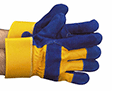 Glove, Rigger style,with split leather palm
