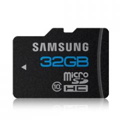 32GB MicroSDHC Class 10 Memory Card