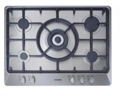 700mm Gas Hob with Cast Iron Pan Supports