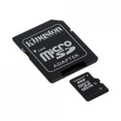 Kingston Flash memory card ( microSDHC to SD adapter included ) 16 GB