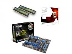 Asus AMD Gamer Bundle (Includes M5A97 PRO S/L Motherboard, FX-6100 & 4GB DDR3 Memory)