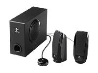 Logitech S-220 PC multimedia speaker system