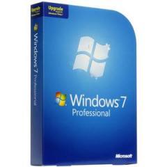 Microsoft Windows 7 Professional Upgrade software