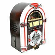Steepletone USB CD Rock Mini LED Jukebox