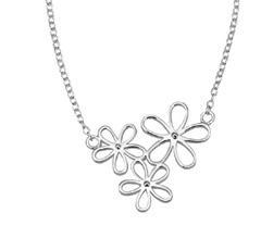 Trio Flower Necklace