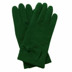 Freya Bow Suede Gloves
